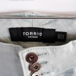 torrid Jeans - Torrid Denim Light Blue Jeggings